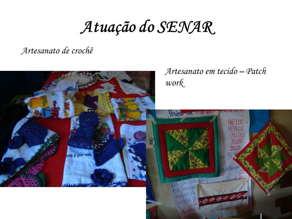 Atuação do SENAR Artesanato de crochê Artesanato em tecido – Patch work