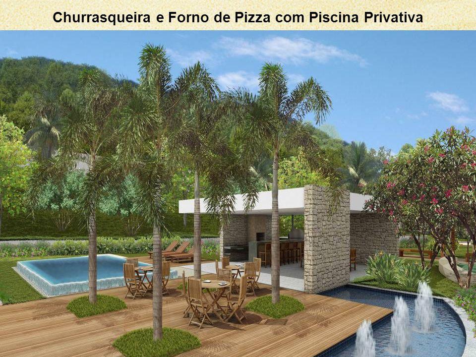 Churrasqueira e Forno de Pizza com Piscina Privativa Sujeito a alteração.