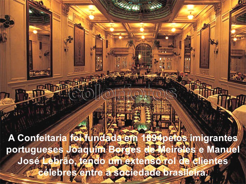 A Confeitaria Colombo até hoje é o ponto de encontro de cariocas e visitantes, principalmente os da Melhor Idade. Vale a pena percorrer esta apresenta