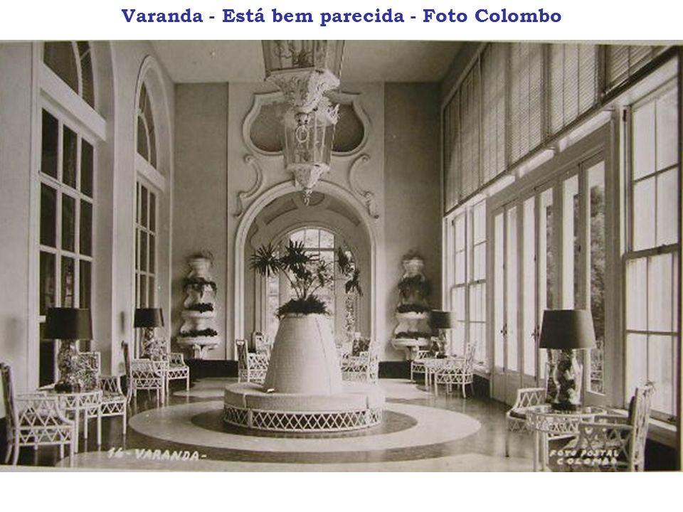 Varanda - Está bem parecida - Foto Colombo