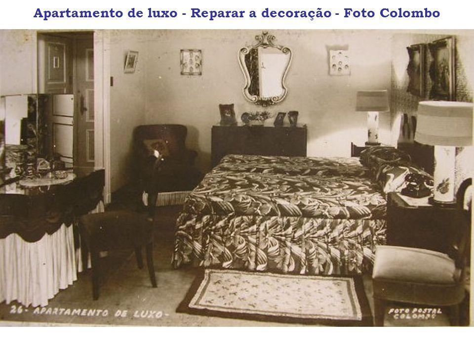 Apartamento de luxo - Reparar a decoração - Foto Colombo