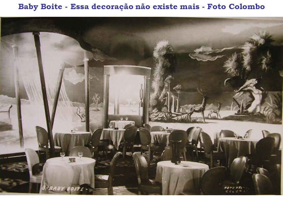 Baby Boite - Essa decoração não existe mais - Foto Colombo