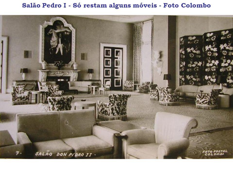 Salão Pedro I - Só restam alguns móveis - Foto Colombo