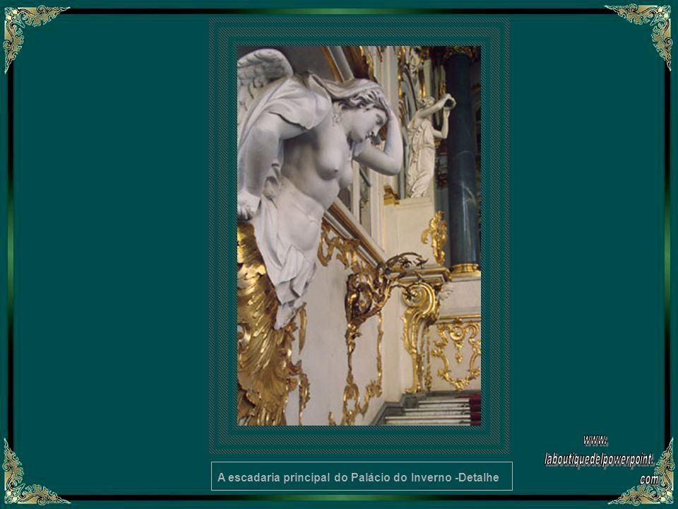 A Biblioteca de Nicholas II – Detalhe do interior