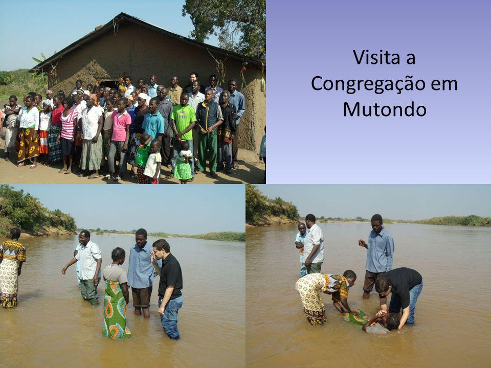 Visita a Congregação em Mutondo