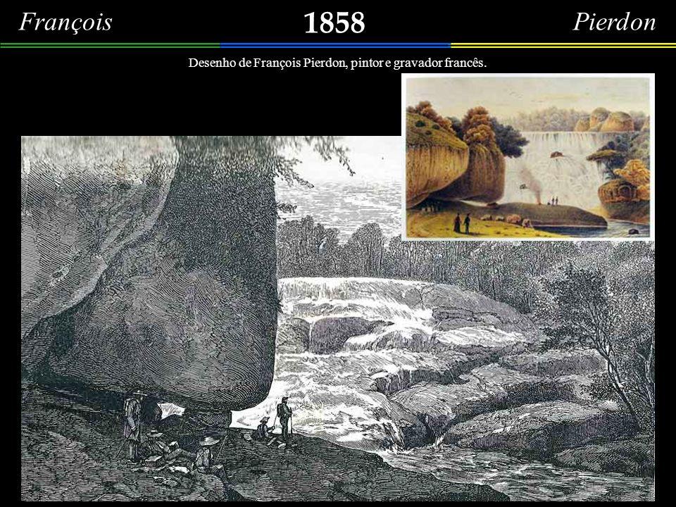 1858 François Pierdon Grupo de excursionistas pescando na Cascata do Alto da Tijuca.