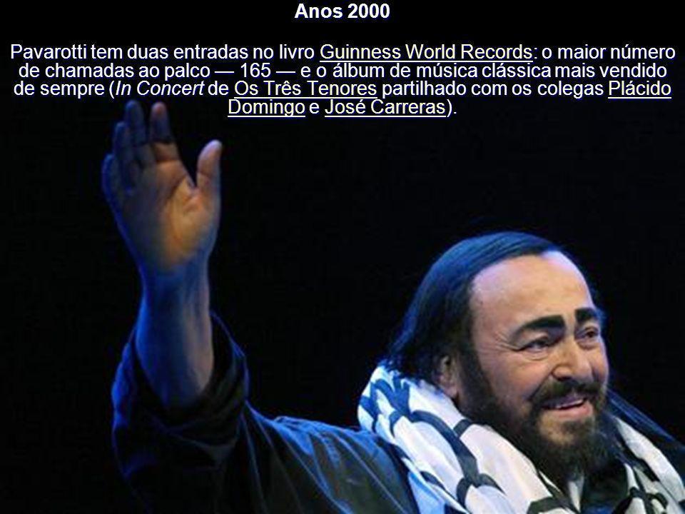 Um novo incremento à sua fama internacional ocorreu quando em 1990 cantou a ária de Giacomo Puccini