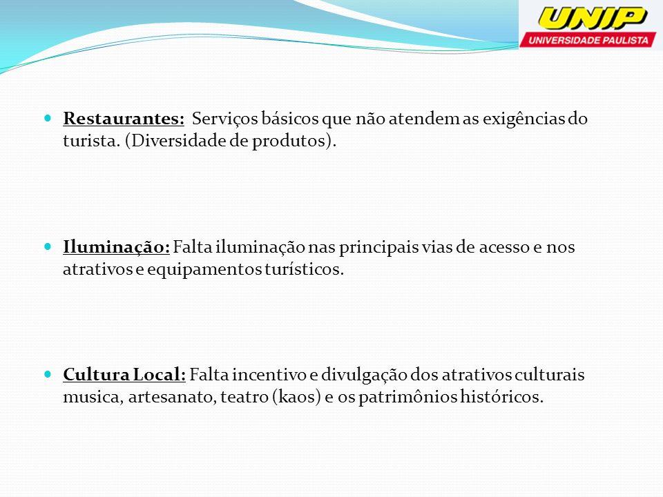 Prognóstico POTENCIAIS TURISTICO -Turismo de Negócios: Pólos Industriais, Feiras de Negócios.