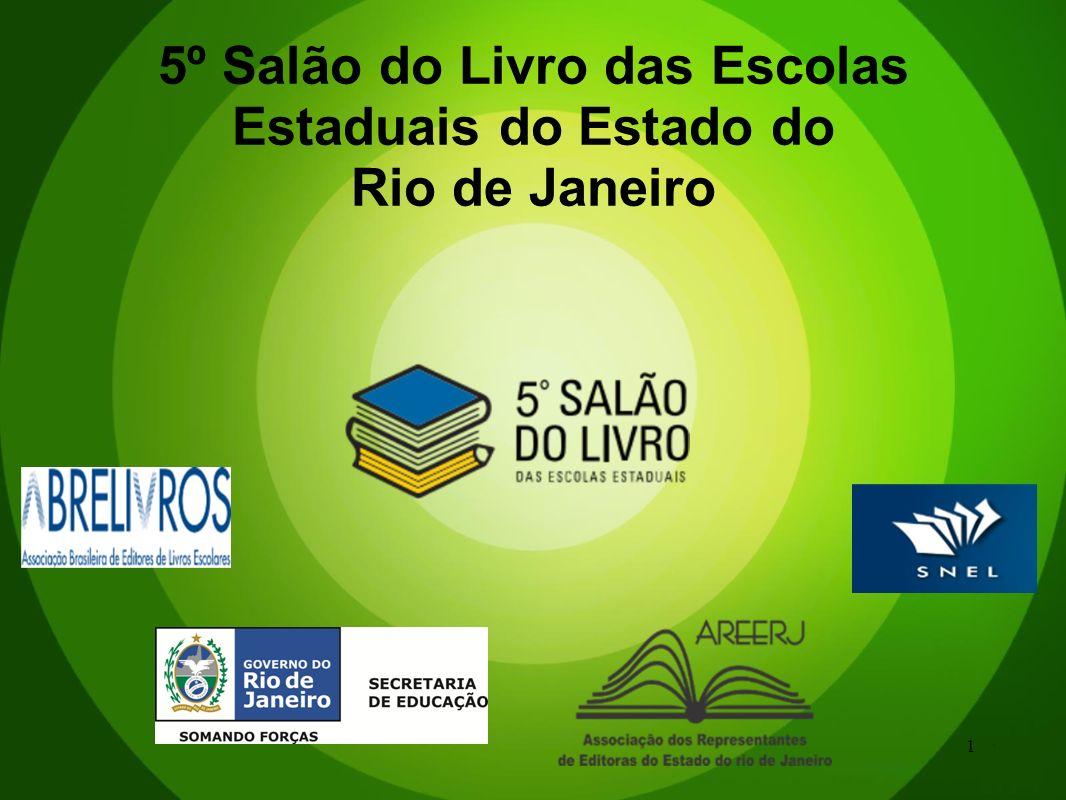 1 5º Salão do Livro das Escolas Estaduais do Estado do Rio de Janeiro