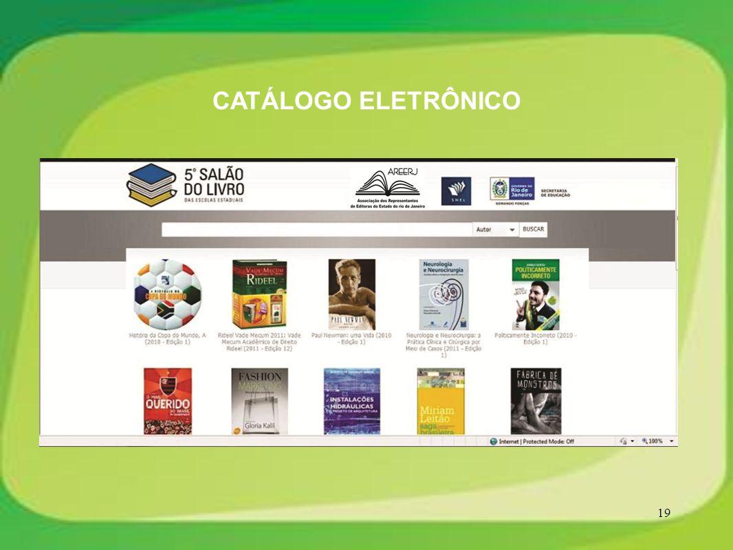 19 CATÁLOGO ELETRÔNICO