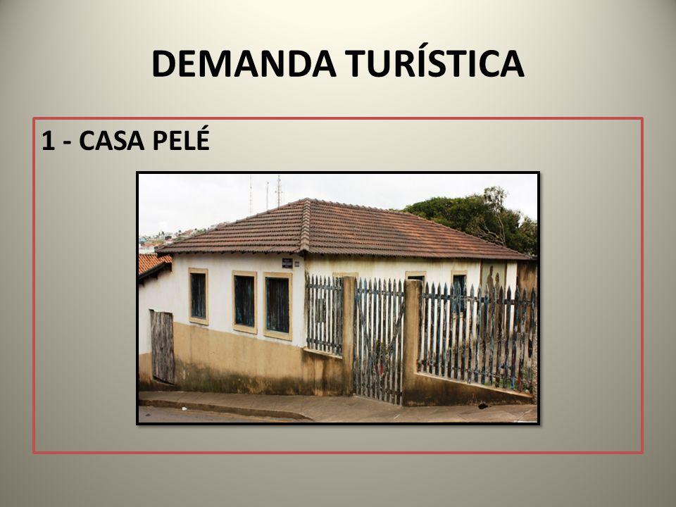 Reconstruída, baseada nas memórias de Dona Celeste Arantes do Nascimento e seu irmão Jorge, respectivamente mãe e tio do Pelé, num projeto em parceria com o Ministério do Turismo.