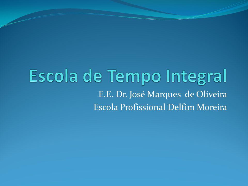 E.E. Dr. José Marques de Oliveira Escola Profissional Delfim Moreira