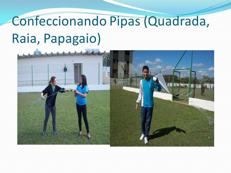 Confeccionando Pipas (Quadrada, Raia, Papagaio)