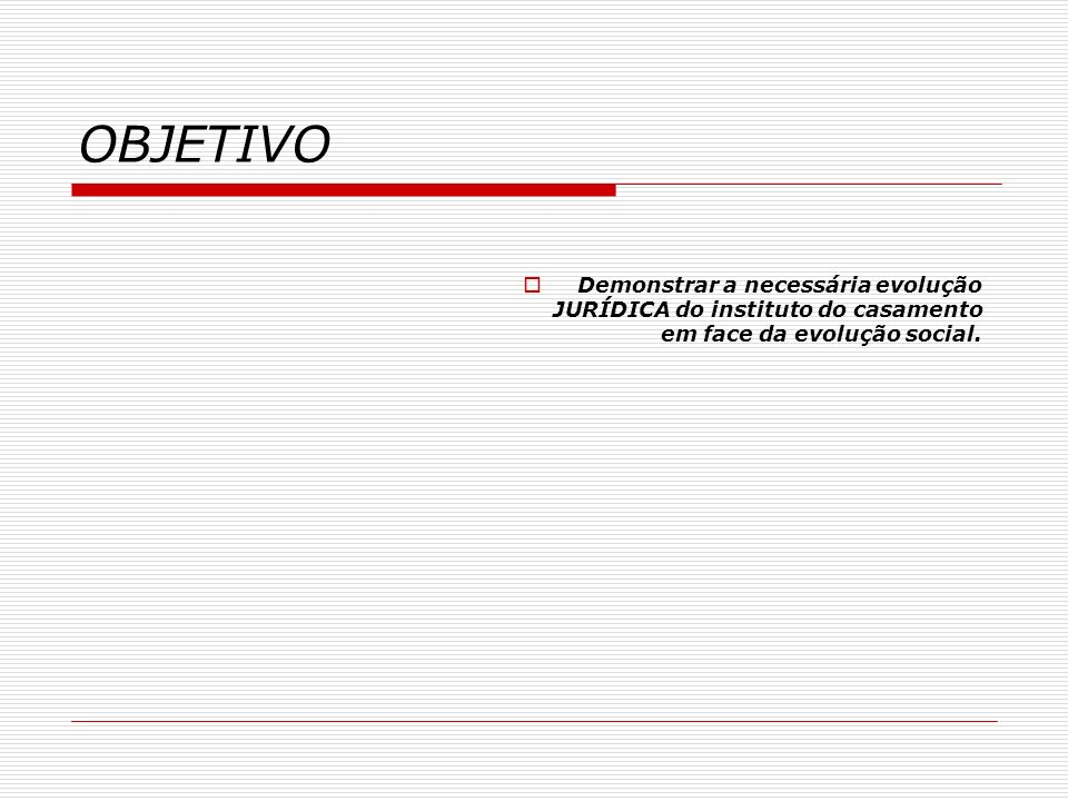TÓPICOS Breve histórico da introdução do divórcio no Brasil.