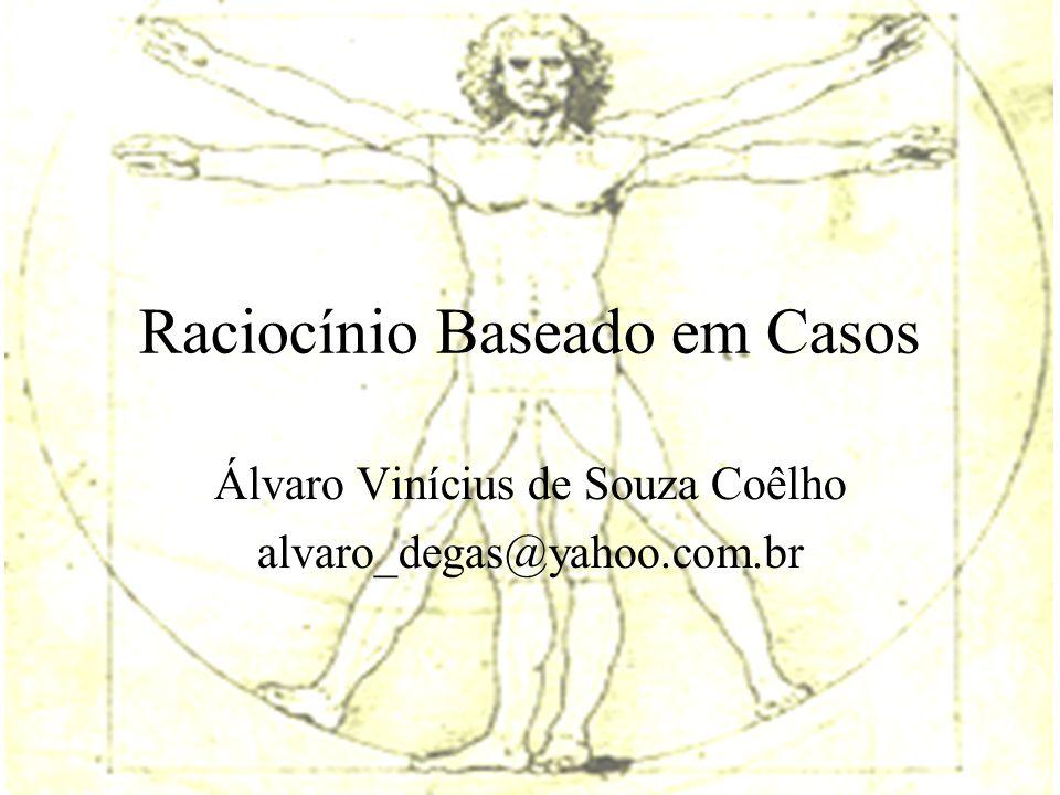 Raciocínio Baseado em Casos Álvaro Vinícius de Souza Coêlho alvaro_degas@yahoo.com.br