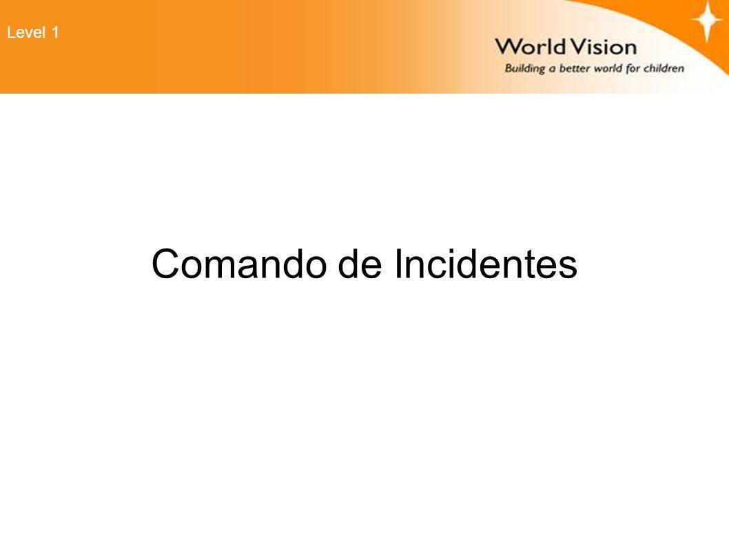 Comando de Incidentes Level 1