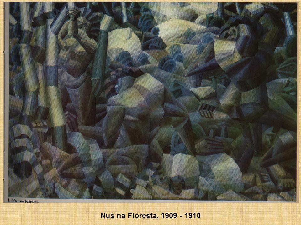 Nus na Floresta, 1909 - 1910