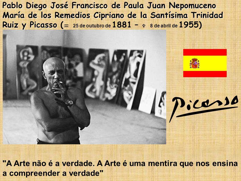Pablo Diego José Francisco de Paula Juan Nepomuceno María de los Remedios Cipriano de la Santísima Trinidad Ruiz y Picasso Pablo Diego José Francisco