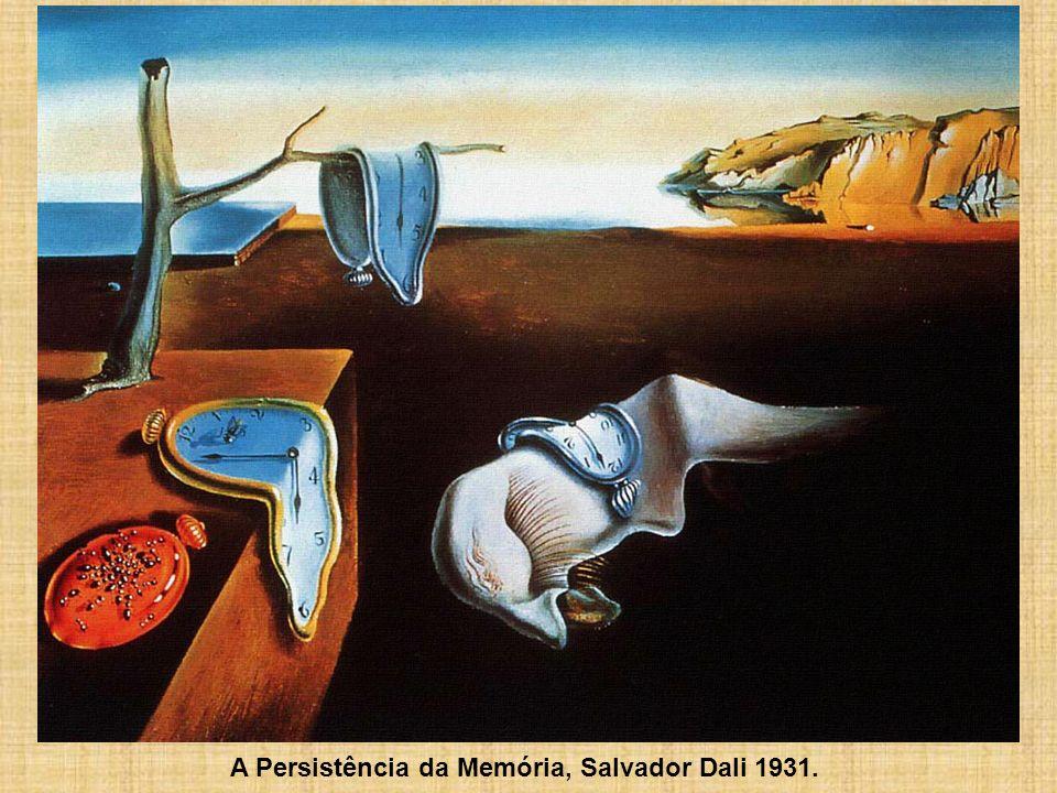 A Persistência da Memória, Salvador Dali 1931.