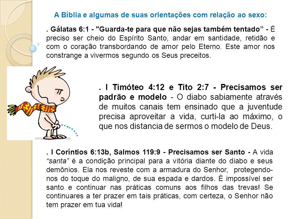 . I Timóteo 4:12 e Tito 2:7 - Precisamos ser padrão e modelo - O diabo sabiamente através de muitos canais tem ensinado que a juventude precisa aprove