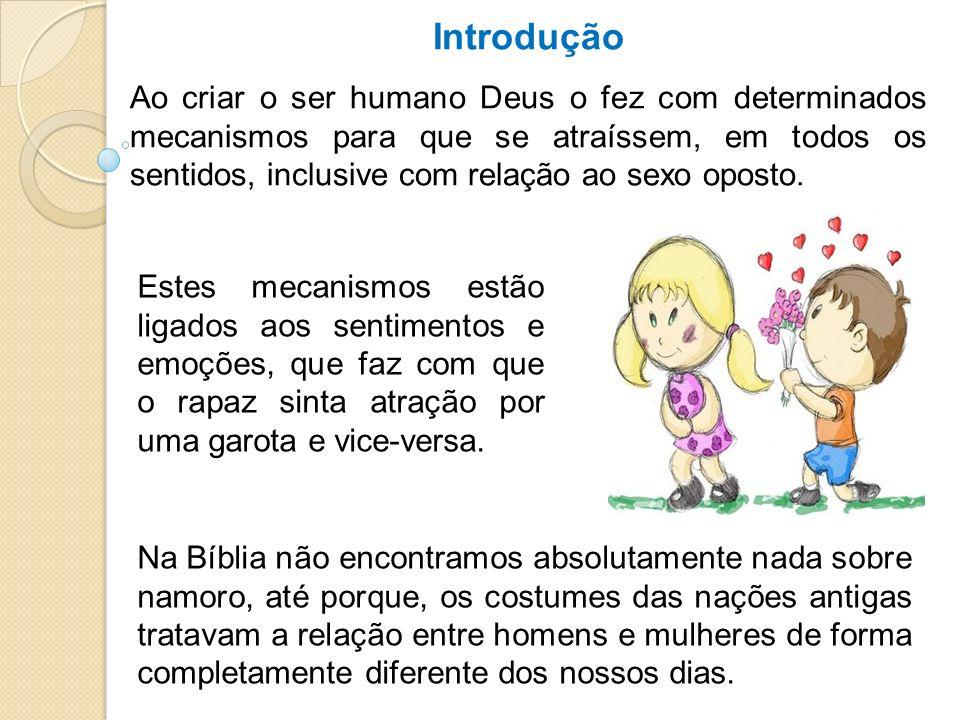 Definindo Namoro Segundo o Dicionário Aurélio, namoro significa: cativar, amar, atrair, cortejar, etc.