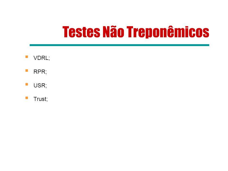 UTILIZAÇÃO DE TESTE RÁPIDO TREPONÊMICO A detecção da sífilis utilizando teste rápido treponêmico em situações especiais é feita exclusivamente com testes rápidos com registro vigente na Anvisa.
