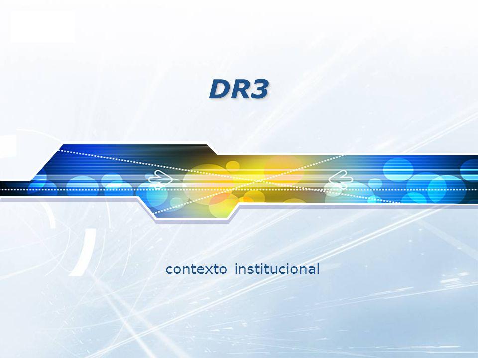 LOGO DR3DR3 contexto institucional