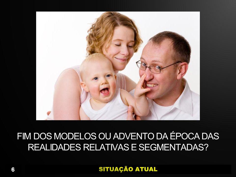 FIM DOS MODELOS OU ADVENTO DA ÉPOCA DAS REALIDADES RELATIVAS E SEGMENTADAS? 6