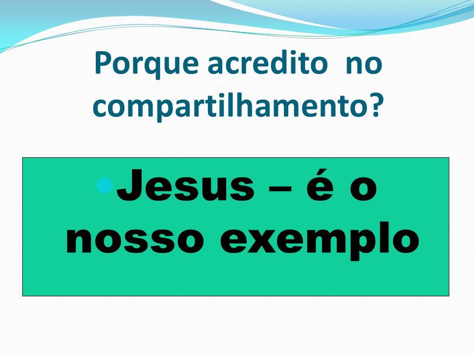 II- Compartilhamento não é uma muleta espiritual Compartilhamento não é para gerar filhos imaturos e sim filhos maduros.