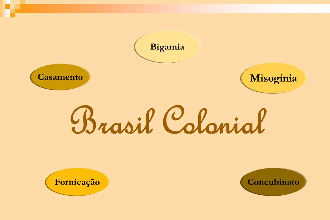 FornicaçãoConcubinato Misoginia Bigamia Casamento Brasil Colonial