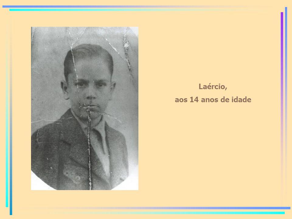 Laércio, aos 14 anos de idade