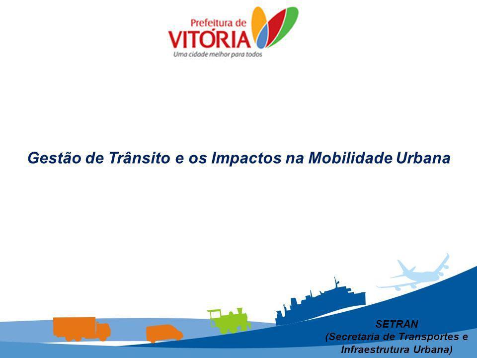 SETRAN (Secretaria de Transportes e Infraestrutura Urbana) Gestão de Trânsito e os Impactos na Mobilidade Urbana