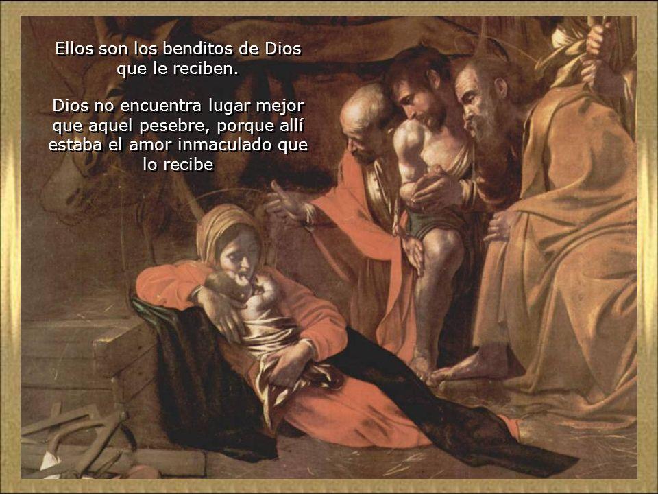 A Virgem e São José, com sua fé, esperança e caridade saem vitoriosos na prova.. Não existe qualquer rejeição, nem frio nem trevas ou desconforto, que
