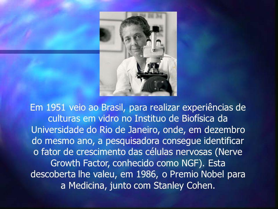 Em 1951 veio ao Brasil, para realizar experiências de culturas em vidro no Instituo de Biofísica da Universidade do Rio de Janeiro, onde, em dezembro