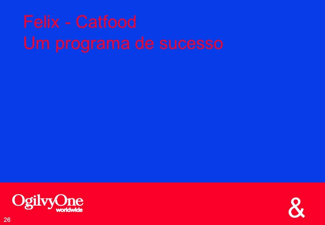 & 26 Felix - Catfood Um programa de sucesso