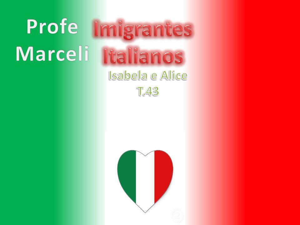 O que trouxeram Os italianos trouxeram comidas que comemos até hoje: -Trigo para fazer massa de pão,pizza...