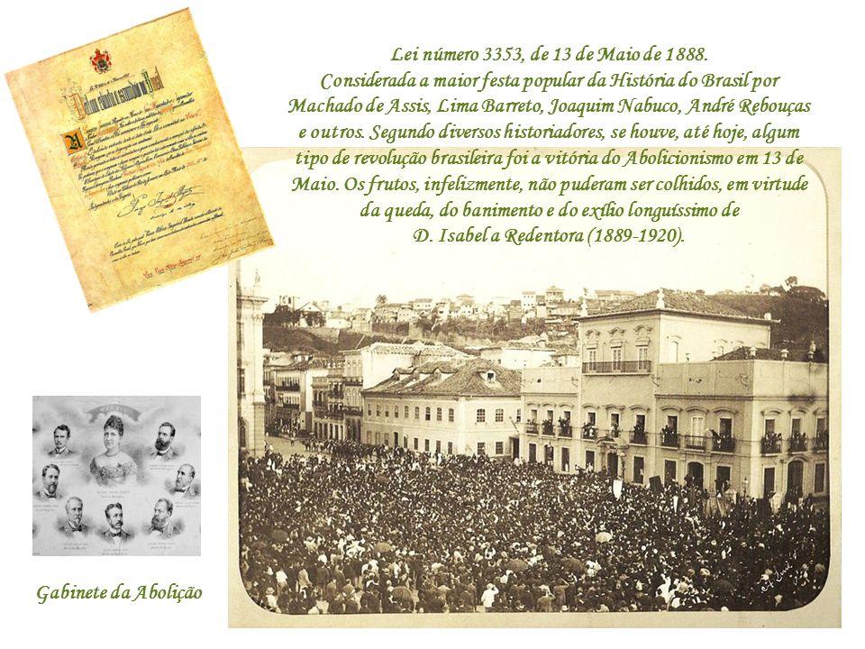 Lei número 3353, de 13 de Maio de 1888.