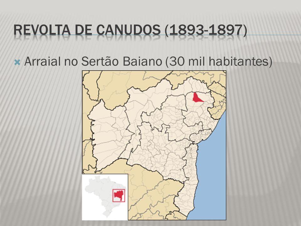 Arraial no Sertão Baiano (30 mil habitantes)
