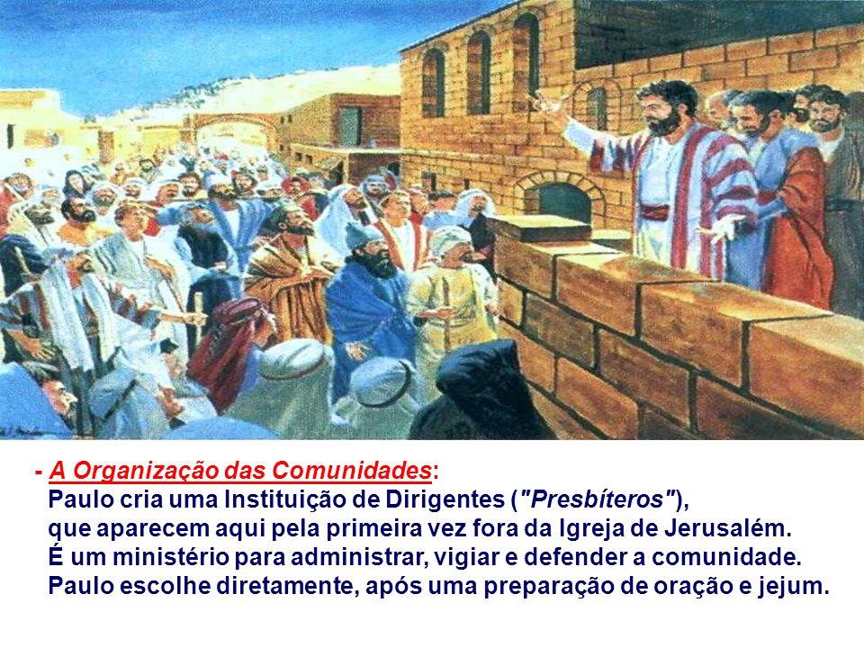 - Os Conflitos são superados: Os sofrimentos são indispensáveis para entrar no Reino, mas confirmam a autenticidade da mensagem e possibilitam sentir