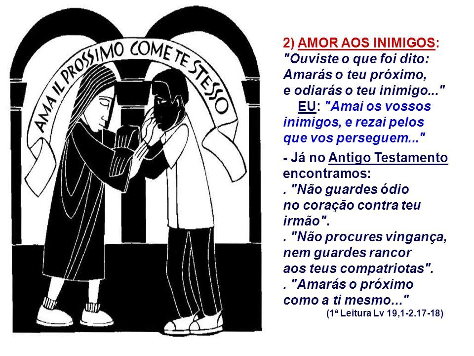 - Não é resignação fatalista, mas a não violência ativa do amor... - Suportar a injustiça não significa aprová-la, pode ser uma denúncia profética...