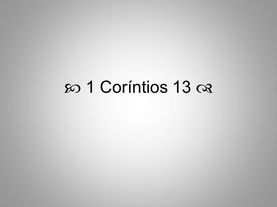 1 Coríntios 13