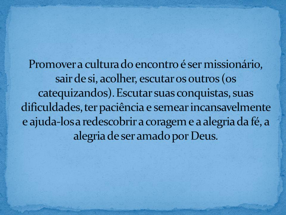 5.O catequista deve conhecer a fundo a mensagem que vai transmitir.