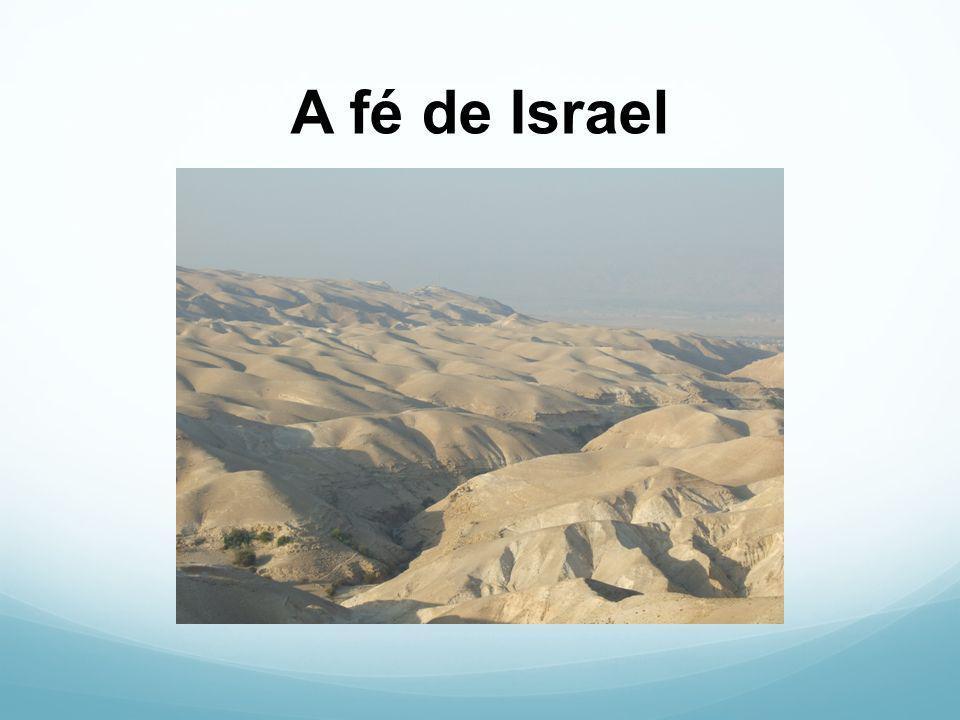Da escravidão do Egito… passagem pelo mar... à montanha do Senhor.