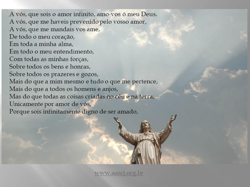 Ladainha do amor de Deus Composta pelo Santo Padre Pio VI www.aascj.org.br