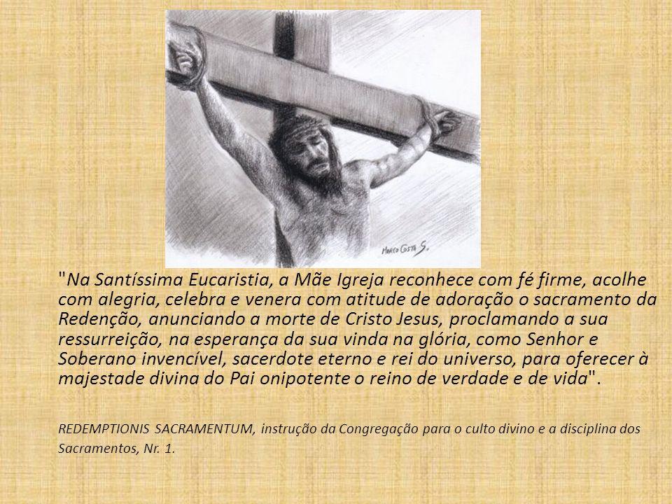 Segunda palestra A Eucaristia como fonte perene da missão dos ministros extraordinários da Comunhão Eucarística