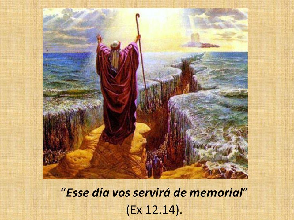 Esse dia vos servirá de memorial (Ex 12.14).