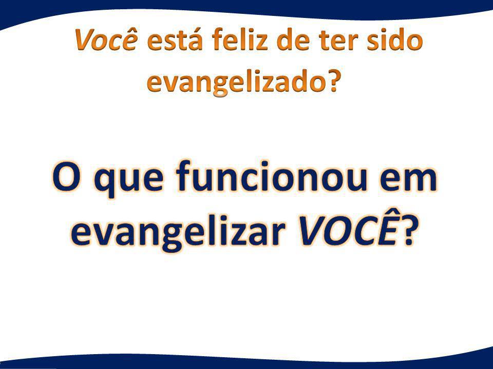 primeira palavra Qual é a primeira palavra que vem à sua mente quando você ouve evangelismo.