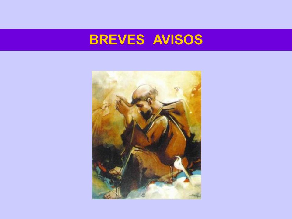 BREVES AVISOS
