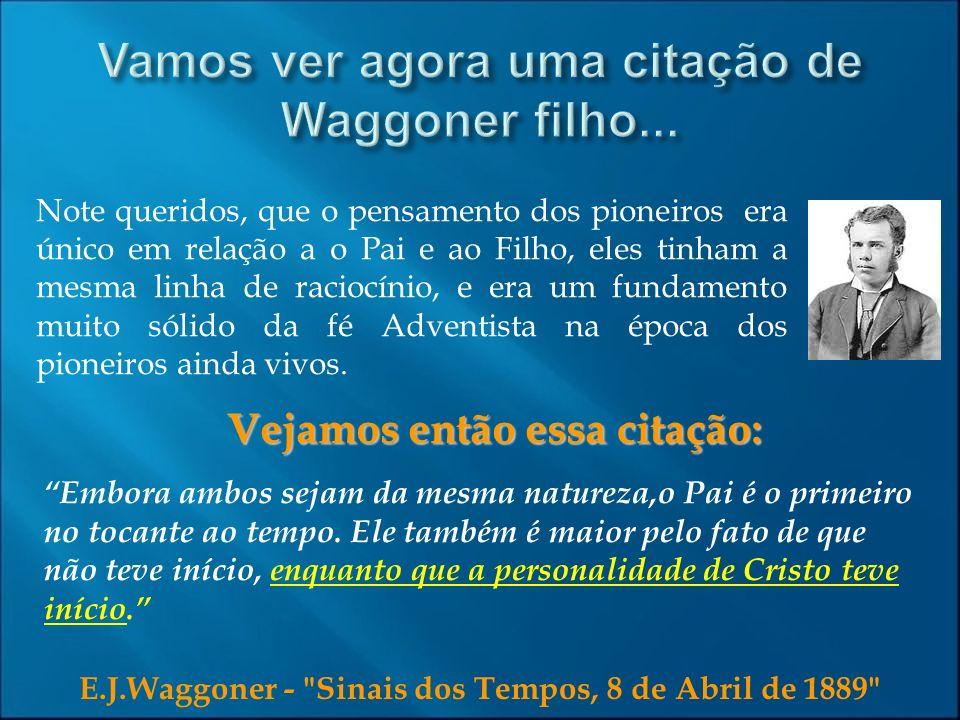 E.J.Waggoner -