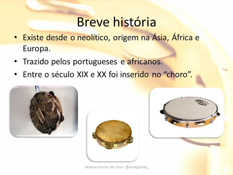 Breve história Existe desde o neolítico, origem na Ásia, África e Europa. Trazido pelos portugueses e africanos. Entre o século XIX e XX foi inserido